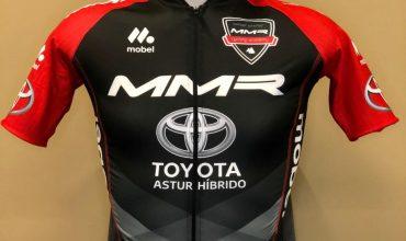 La Samuel Sánchez-MMR  Cycling Academy entrega a  Cruz Roja los 5.530 euros  de su rifa solidaria para  luchar contra la covid19