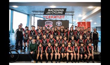 Primera escuela ciclista en formarse con Machining Meets Cycling by CERATIZIT en 2020